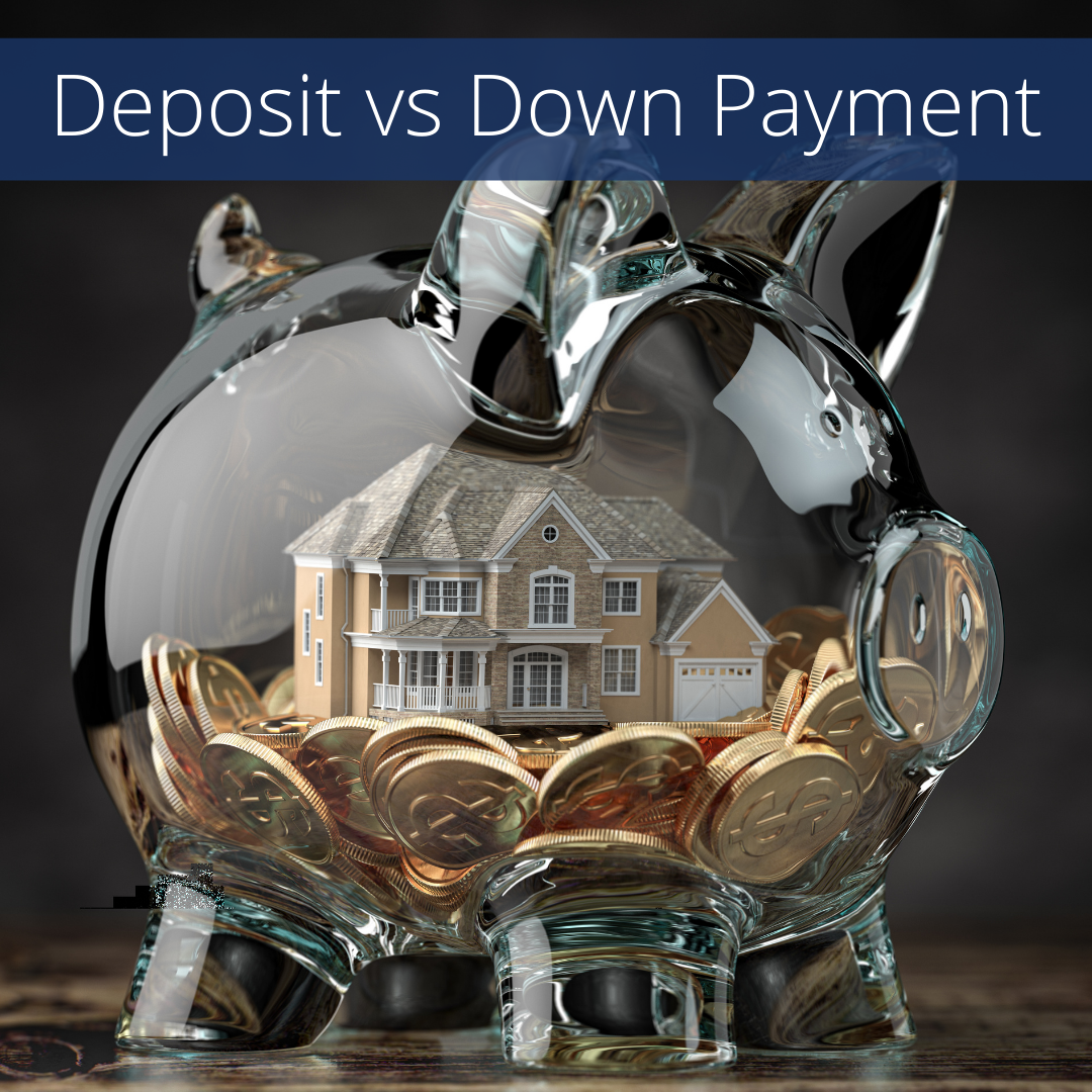 Down Payment Vs Deposit - How Much?