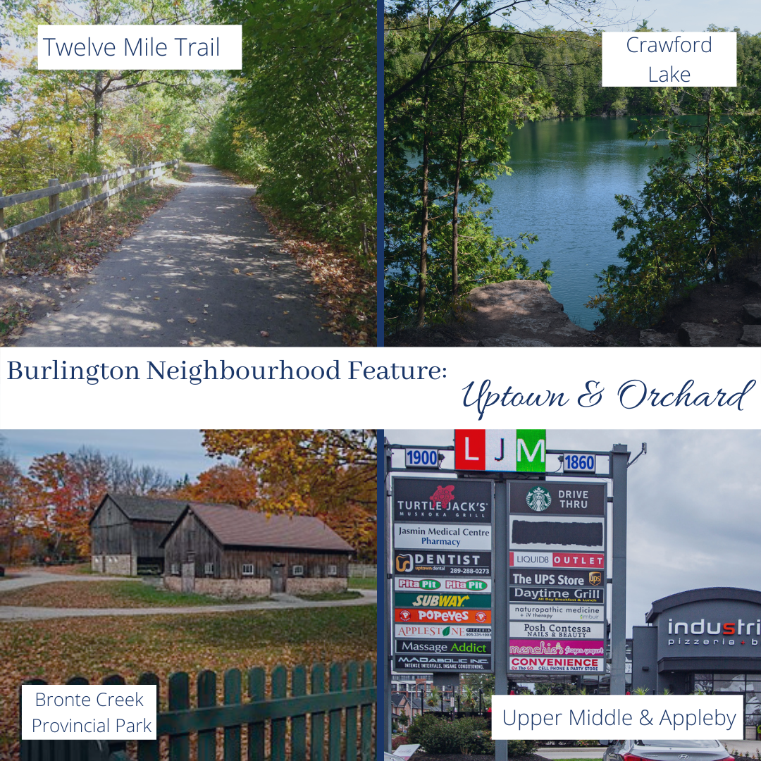 Burlington's Uptown & Orchard Neighbourhoods