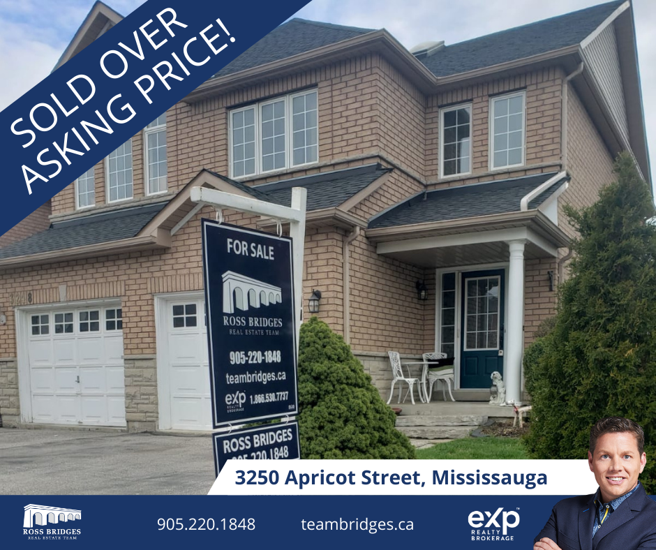 SOLD! 3250 Apricot Street, Mississauga, Ontario